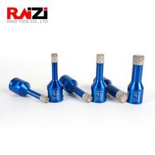 Raizi Tiles Hole Saw Core Bit Vacuum Brazed Diamond Core Drill Bits For Porcelain Marble Granite 1 Pc 6-14 mm (Free Shipping) цена и фото