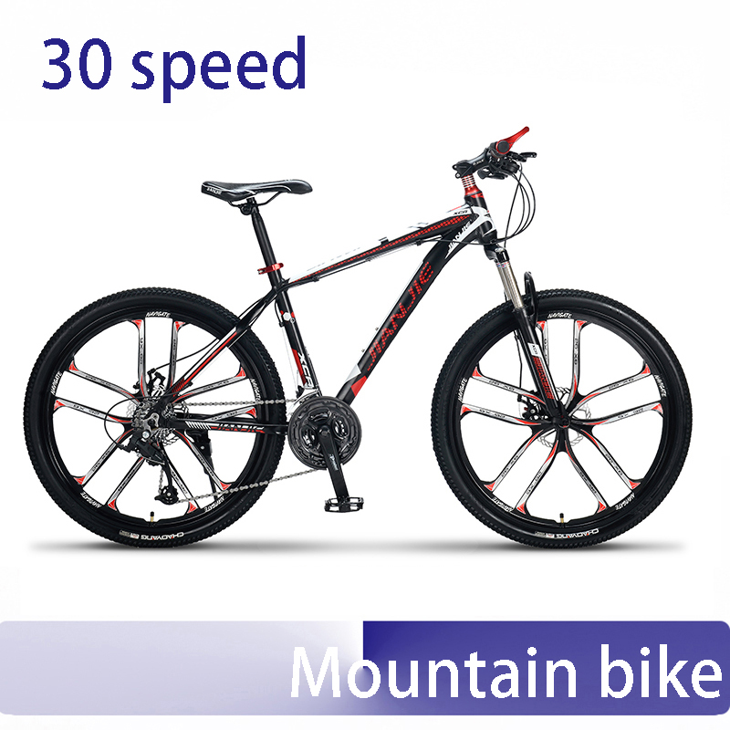 mountain bike double oil disc brake 30 speed aluminum frame mountain bike race fiets 26 inch стиральная машина hotpoint ariston wmtf 701 h cis