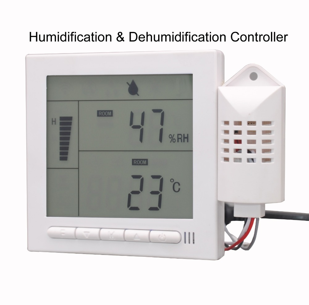 Temperature display Programmable Humidification and dehumidification controller with RS485 communication