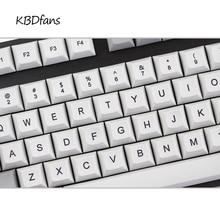 Dsa sublimation pbt tastenkappen für usb wried gaming mechanische tastatur cherry mx keycap rot esc doppel esc-taste