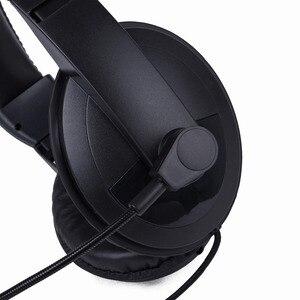 Image 5 - Headphone Radio Heavy Duty Headset With Double Earmuff Headset For Kenwood TK 3107 BAOFENG UV 5R Radio Helmet PTT VOX Earpiece