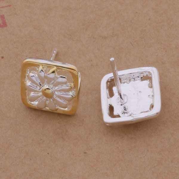 AE222 Hot 925 sterling silver ต่างหู, 925 เงินแฟชั่นเครื่องประดับพิเศษดอกทานตะวัน/ccvakuca anaajeha