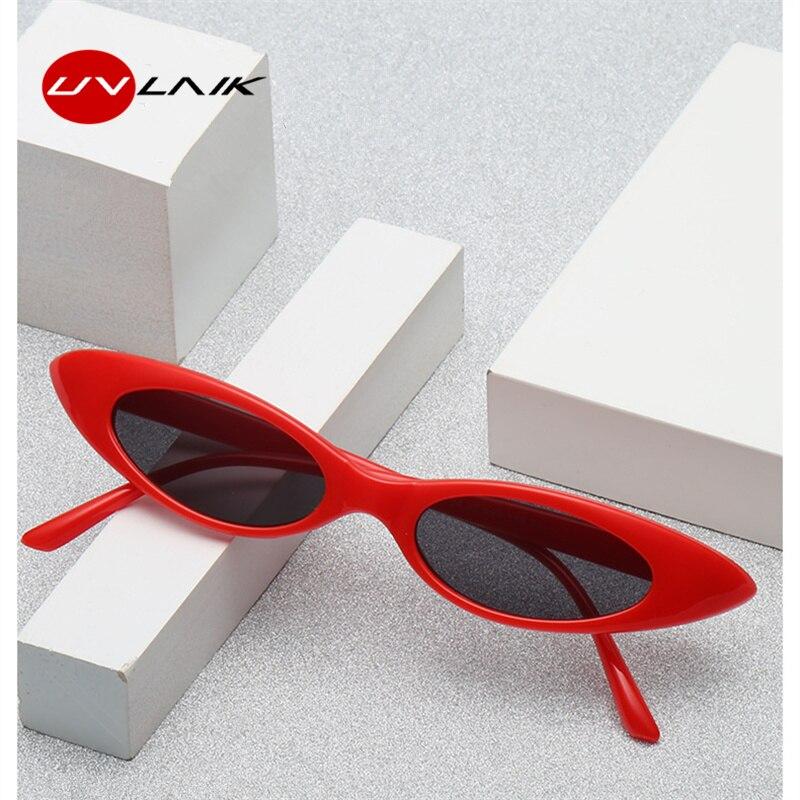 Hot Sale UVLAIK Vintage Cat Eye Sunglasses 2018 Women Classic Brand ...