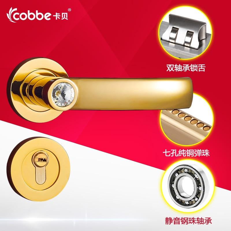 цена на Simple Wooden Door Split Locks Zinc Alloy Indoor Door Locks Set Silence Door Locks Bedroom Hotel Home Office Door Lock