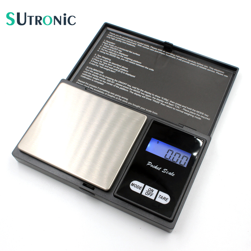 SU02 Precision Digital Scales 100g x 0 01g font b Electronic b font Reloading Powder Grain
