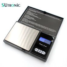 SU02 Precision Digital Scales 100g x 0.01g Electronic Reloading Powder Grain Jewelry Carat Three Weighing Modes 7 Units