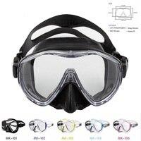 New Comfortable Silicone Large Frame Swim Glasses Swimming Goggles Men Women Swim Mask MK100