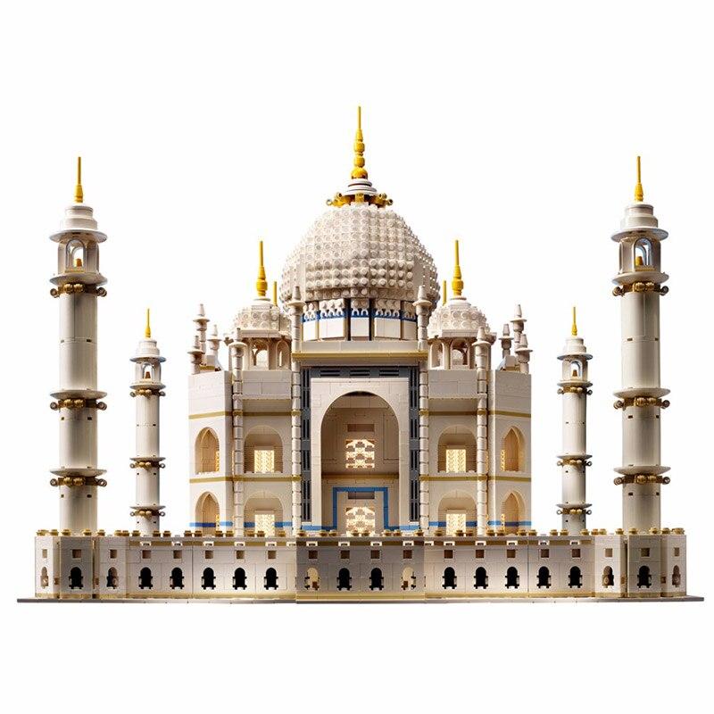 цена на LEPIN 17001 Create Series Taj Mahal 10256 Out of print Collection Building Blocks 6634pcs Bricks Toys Gift For Children
