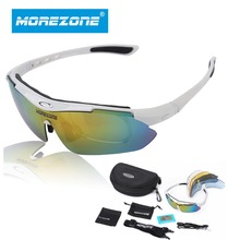 Professional Cycling Eyewear UV400 Polarized Cycling Glasses Bike Bicycle Glasses Sunglasses Gafas Cicismo Goggles TR90 5 Lens