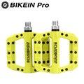 BIKEIN велосипедные нейлоновые педали для горного велосипеда ультралегкие противоскользящие MTB на платформе BMX фиксированные Плоские Педали ...