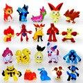 3 cm 144 unids Japonés figuras set 2016 Nueva pokeball Pikachu pikachu charizard doll lot para niños de artículos para fiestas de Regalo decoración