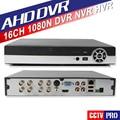 Inicio de Seguridad CCTV AHD DVR 16Ch 1080N Grabador de Video 8CH 1080 P 4Ch NVR 5MP Onvif P2P Nube Trabajo Para AHD CCTV Surveillanc cámara