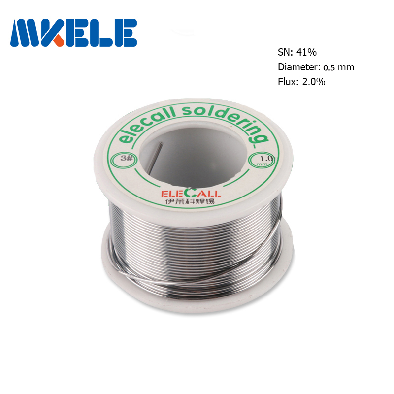 Solder Wire 41SN Pure Tin 0.5mm 75g wire silver solder tin lead free electric soldering free shipping tin scrap metal sheet cutter electric drill tin scissors barbed wire stainless steel