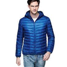 Casual Ultralight Men Winter Jacket Men's Down Jackets Short Section  Cotton Jacket Cotton Clothing