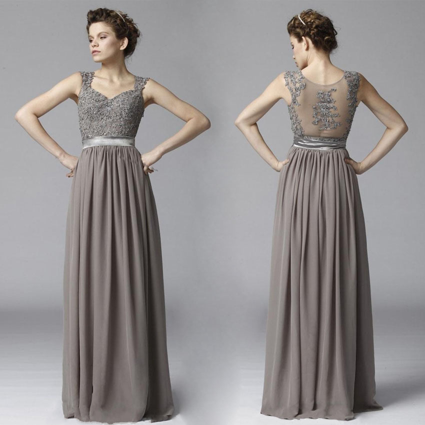 gray lace bridesmaid dresses page 3 - lace