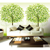 Custom 3D Print DIY Fabric Textile Wallcoverings For Walls Wallpaper Matt Silk For Living Room Trees