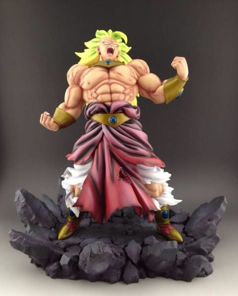 все цены на MODEL FANS Dragon Ball Z 48cm super saiyan 3 Broli GK Resin statue Figure for Collection онлайн