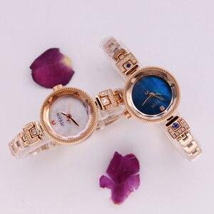Image 3 - Mały pazur ustawienie masy perłowej Julius zegarek damski japonia Quartz godzina dzieła moda kobieta zegar łańcuch bransoletka dziewczyna pudełko