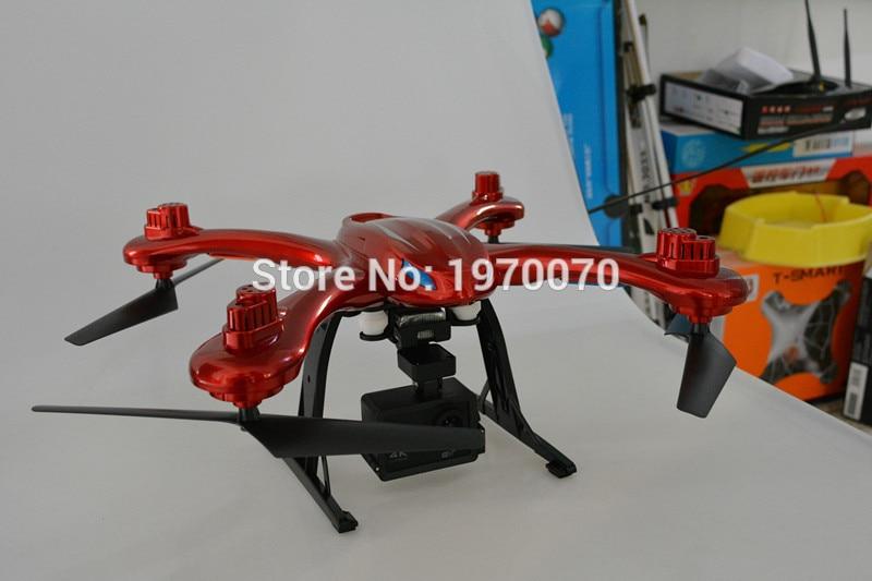 MJX X102H 2.4G RC Quadcopter Drone Con La Modalità Altitudine di Pressione Dell'aria alta Set FPV Macchina Fotografica di Wifi One Key Ritorno decollo Atterraggio - 3