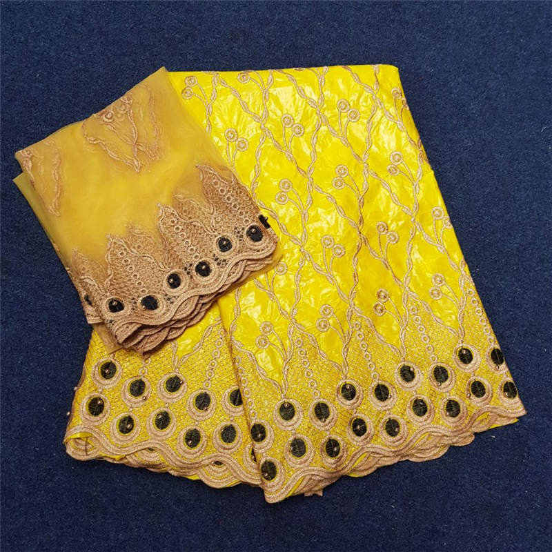 Африканский швейцарский вуаль кружевной ткани Высокое качество Базен Riche для