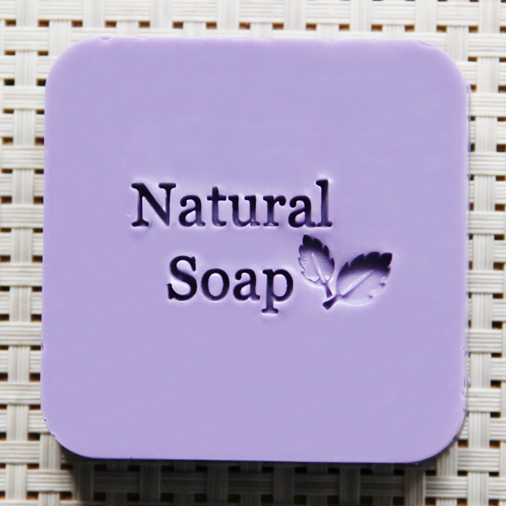 Natural Handmade Soap Seal Stamp Leaf Pattern Acrylic Mold Chapter soap handmade resin soap stamp seal soap mold mould 1 97 x1 57