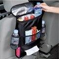 Auto Car Estiba ordenar Contenedor de Almacenamiento De Alimentos de Malla Bolsillo Trasero Cubierta de asiento de la Bolsa Colgando Bolsa de Pañales Para Bebé Asiento de Coche organizador