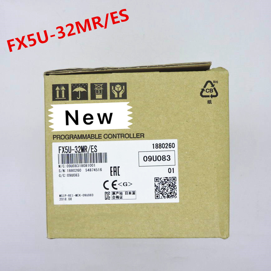 1 an de garantie nouveau original dans la boîte FX5U 32MT/ES FX5U 32MR/ES FX5U 64MT/ES FX5U 64MR/ES FX5U 80MT/ES FX5U 80MR/ES-in Télécommandes from Electronique    1