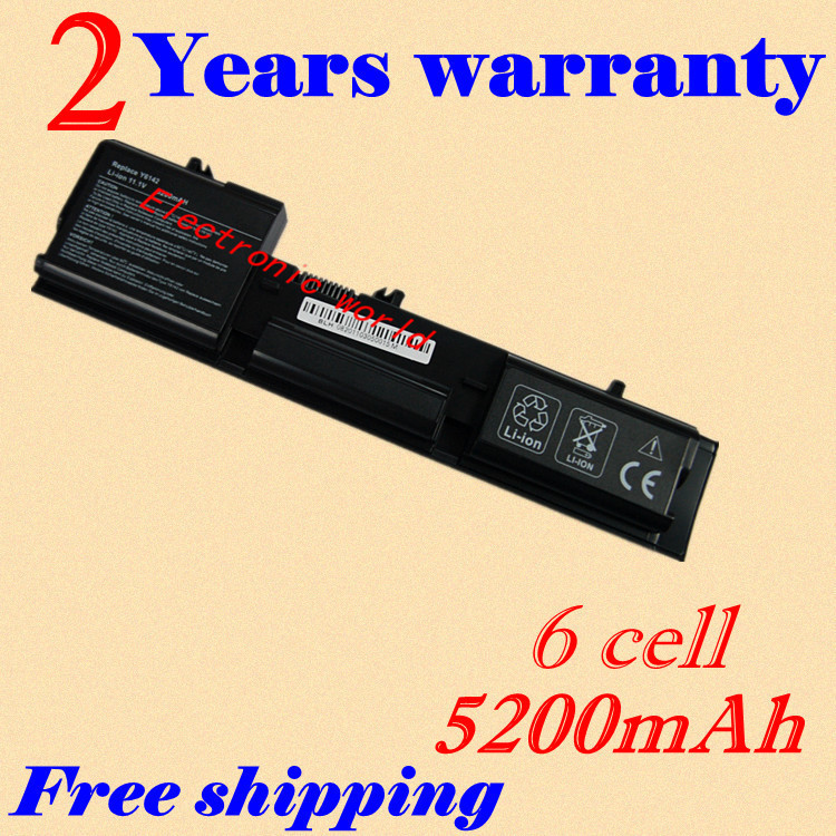 JIGU <font><b>4400mah</b></font> Replacement Laptop <font><b>Battery</b></font> 312-0314 312-0315 451-10234 Y5179 Y5180 Y6142 For Dell Latitude D410