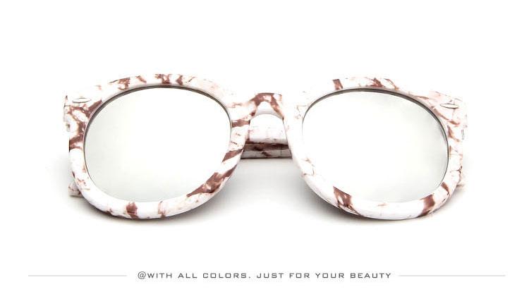 HTB1Av2YSXXXXXX0XFXXq6xXFXXX1 - Marbling Sunglasses Women Round Frame PTC 268