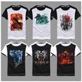 New Brand Game Dota 2 Jugg Blade Master Shadow Fiend cotton Men T shirt Fashion Men camiseta Plus Size Fitness skate T-shirt