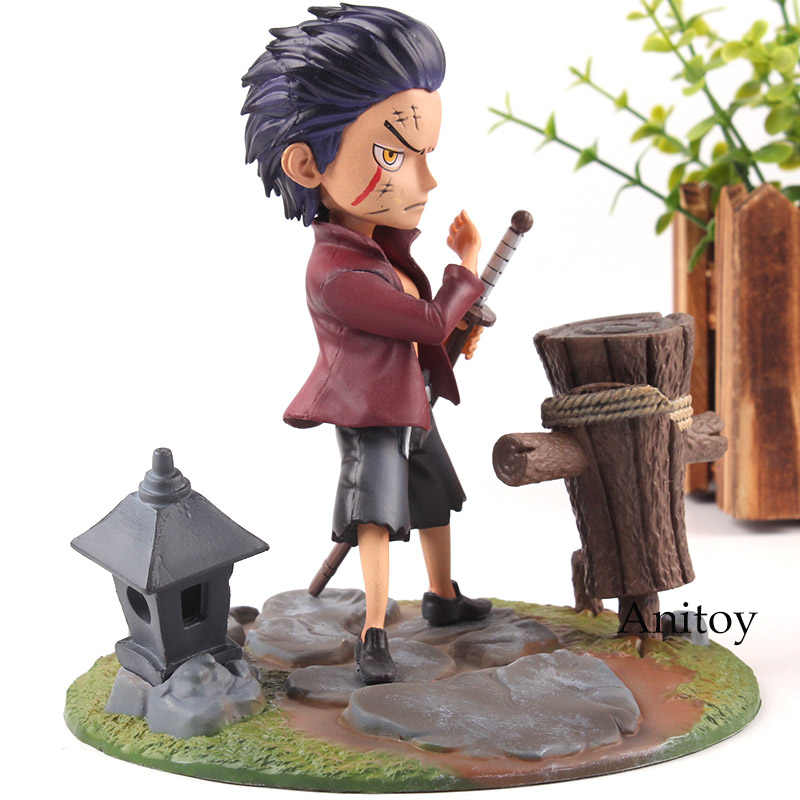 Anime Action Figures Dracule Mihawk Child One Piece PVC One Piece Figurine Collection Model Toy Doll 14cm