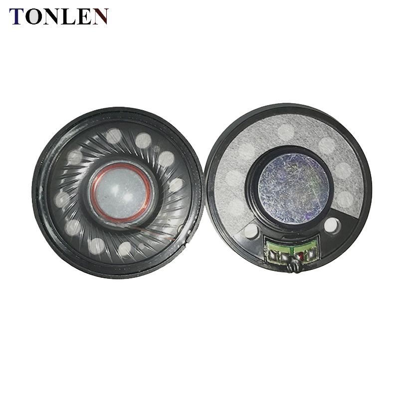 TONLEN 50mm Headphone Horn 0.5W 64 ohm Headphone Speaker para Hifi Wireless Bluetooth Mini Altavoces de audio portátiles Headphone Horn