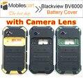 Blackview bv6000 tampa da bateria + altifalante original bateria tampa traseira do caso de alta qualidade para smartphones blackview bv6000s