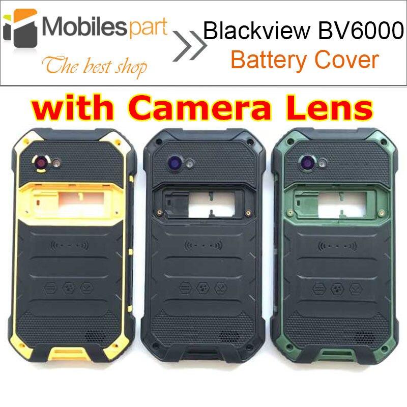 imágenes para Para Blackview BV6000 Caso de La Contraportada de la batería Cubierta de La Batería + Altavoz de Alta Calidad para Blackview BV6000S Smartphone