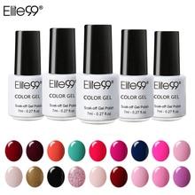 Elite99 Nail Gel Polish UV LED Candy Color 58 Colors 7ML Long lasting Soak Off Varnish Base Top Coat Nail Polish