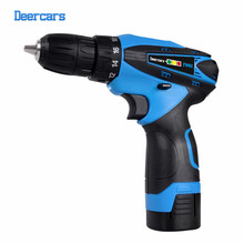 Free Shipping 16 8v Cordless Drill DIY Electrical Drill Lithium Screwdriver Electrical Drilling Tool One Battery