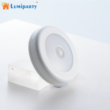 LumiParty 6 LED Night Light Magnetic Wireless Detector Light Wall Lamp Infrared
