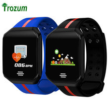 B07 Smart Fitness Bracelet Sport App Control Watch Pulse Heart Rate Tracker Z66 PLUS Waterproof Band for IOS Android Pk Mi Band(China)
