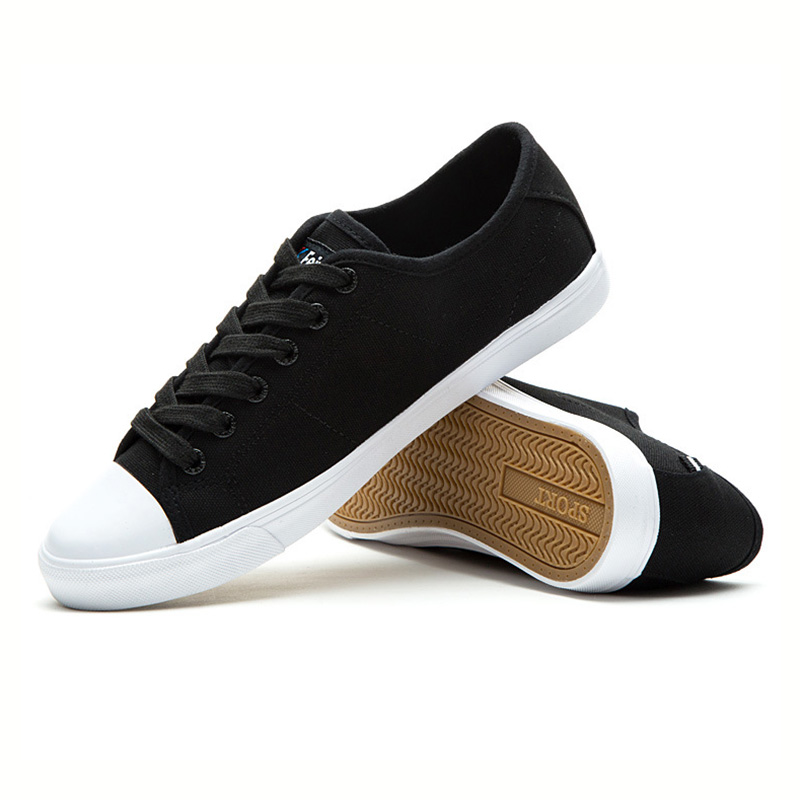 USHINE EU34-44 noir blanc plat toile Fitness étudiants KungFu baskets skateboard Feiyue chaussures jeunes femmes homme