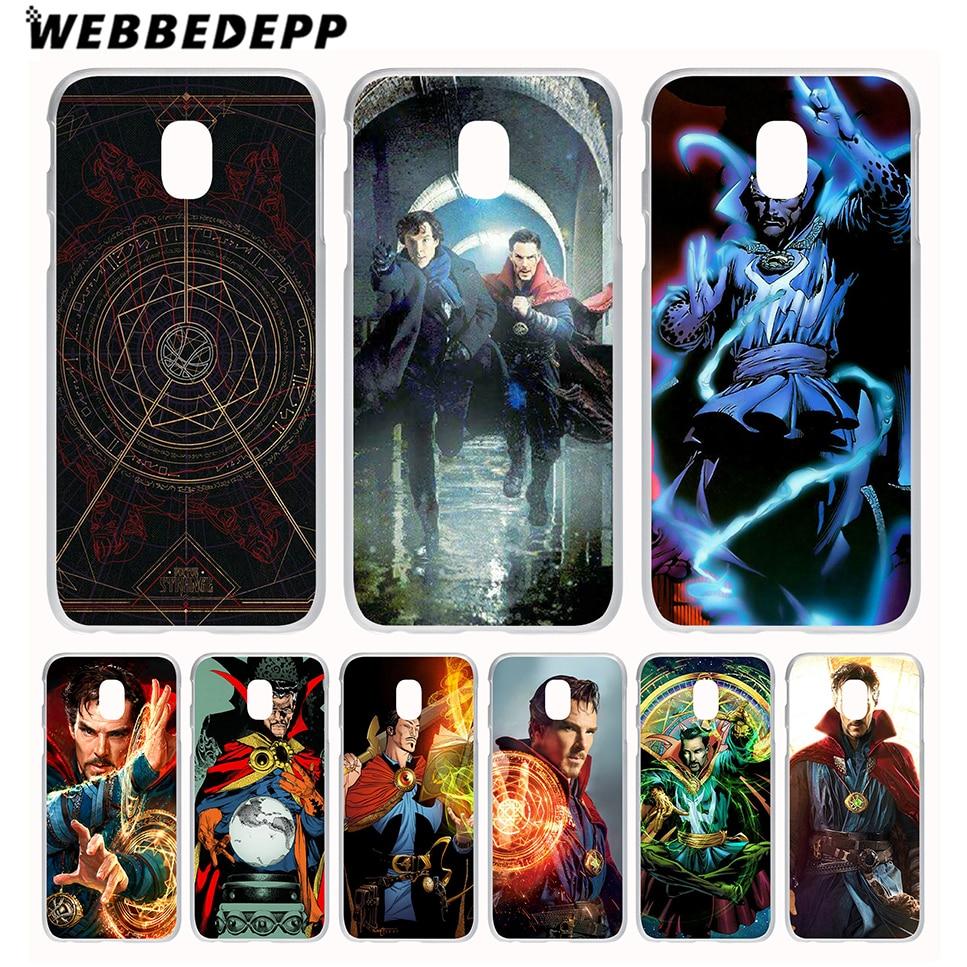 2015/2016/2017/2018 Prime Eu Us Version Cover Able Webbedepp Strange Doctor Steven Phone Case For Galaxy J1 J2 J3 J5 J6 J7