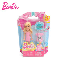 Original Barbie Doll Birthday Series Doll with Shoes Dress Clothes Accessories Set Barbie Baby Girls Toys January February DFG43(China)