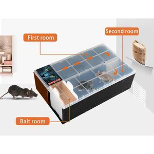 Image 2 - 連続マウストラップなしキルマウスラットキャッチャーリサイクルプラスチック複数マウスマウストラップ