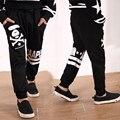 Primavera otoño pantalones de niño de algodón 2-7 T pantalones de harén niños pantalones casuales boy Chándal deportes niños pantalones del bebé muchacho de la ropa