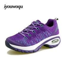 Beautiful Girl Sneakers Running shoes 2016 Summer New Arrivals Fly line knitting air Mesh Women Sport Walking Shape-ups shoes