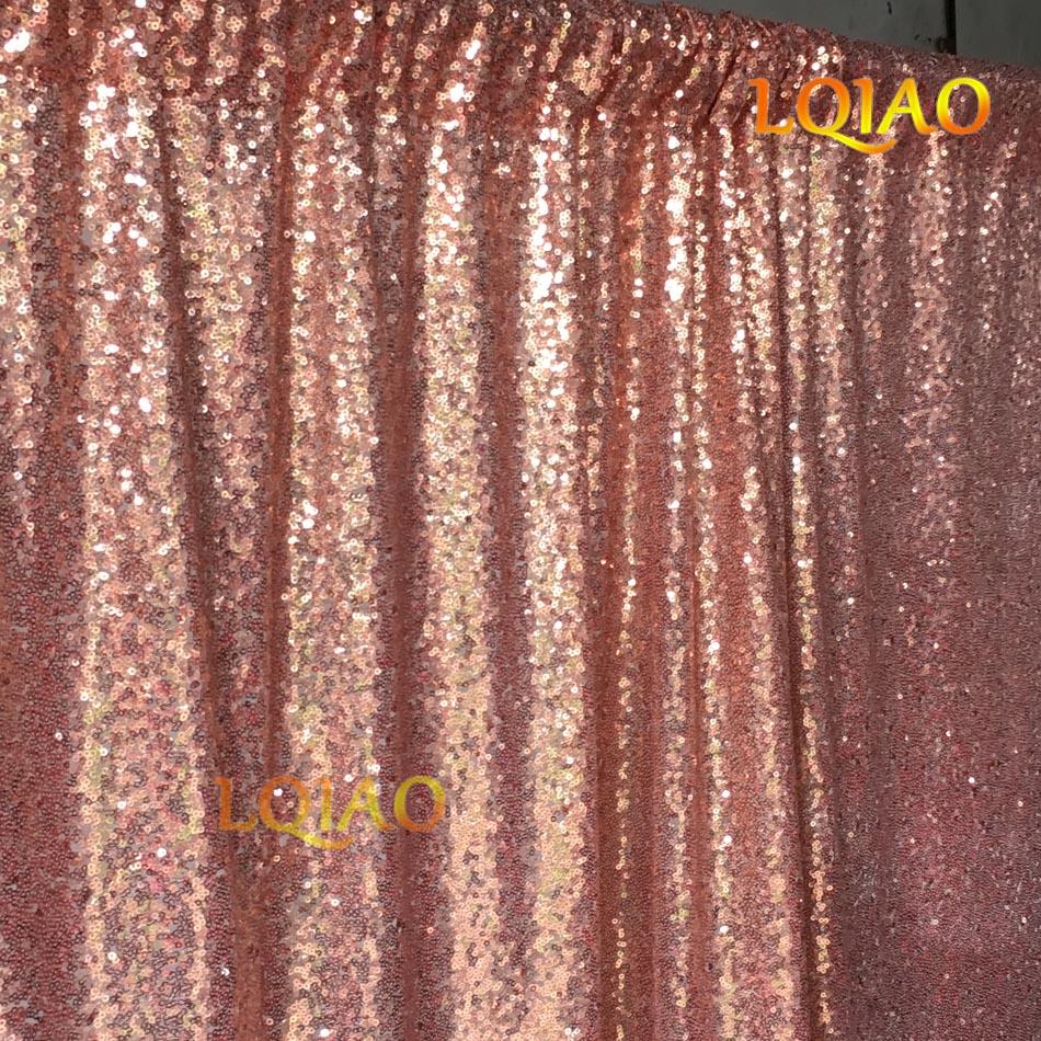 Rose Gold Sequin Backdrop 20FTX10FT Wedding Decoration