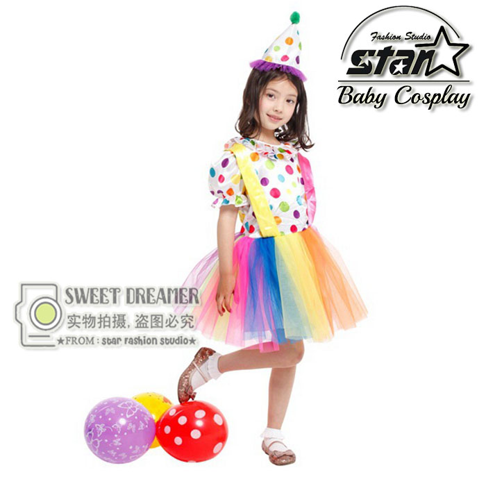 Children Girls Rainbow Tutu Dress Baby Kids Tulle Tutu Dress Cute Lovely Girls Birthday Party Costume Carnival Stage Clothing