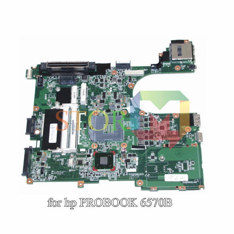 NOKOTION for HP Probook 6570B laptop motherboard 686974-601 686974-001 qm77 gma hd4000 DDR3 744009 501 744009 001 for hp probook 640 g1 650 g1 motherboard socket 947 hm87 ddr3l tested working