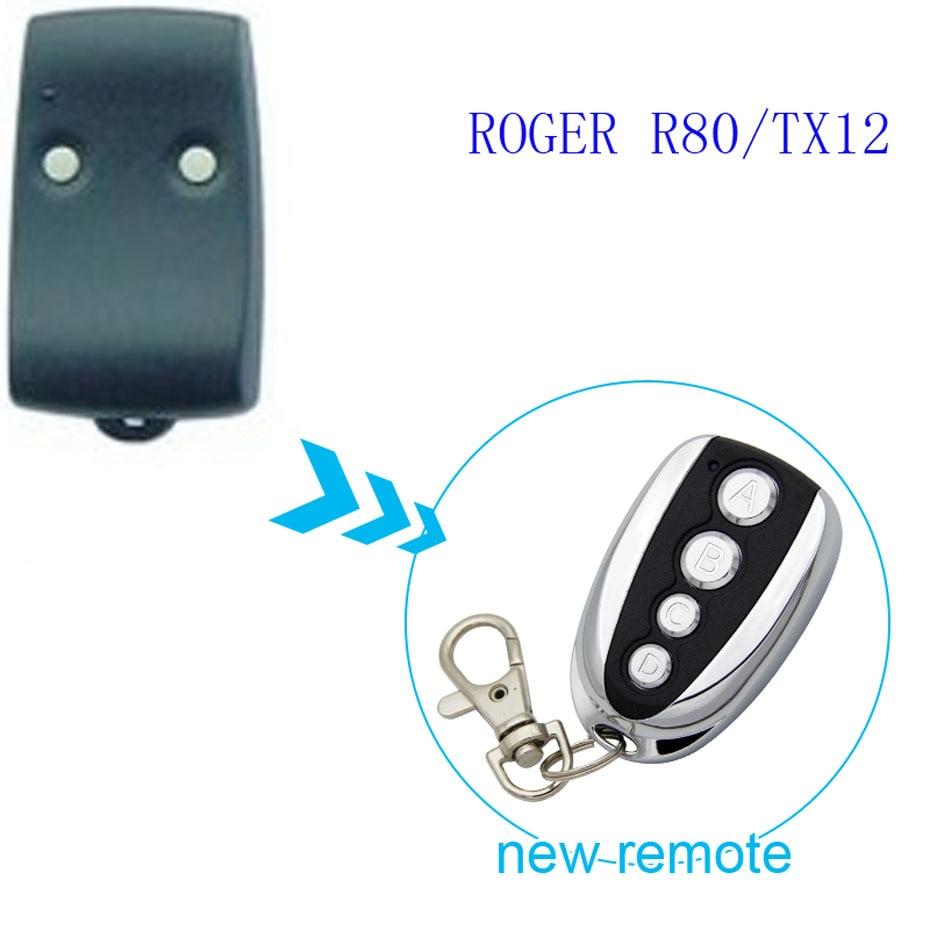 Двери гаража/ворот Дистанционное управление замена/Дубликатор 433.92 мГц Роджер R80/tx12