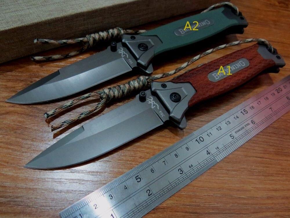 5PCS LOT New sale Efeng E 364 Folding font b Knife b font Camping font b