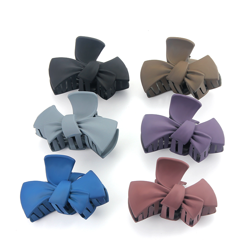 Colorful Hair Claws for Women Hair Styling Tools Crab Plastic Hair Clips Clamp Hair Accessories for Women Hairgrip   Headwear   530
